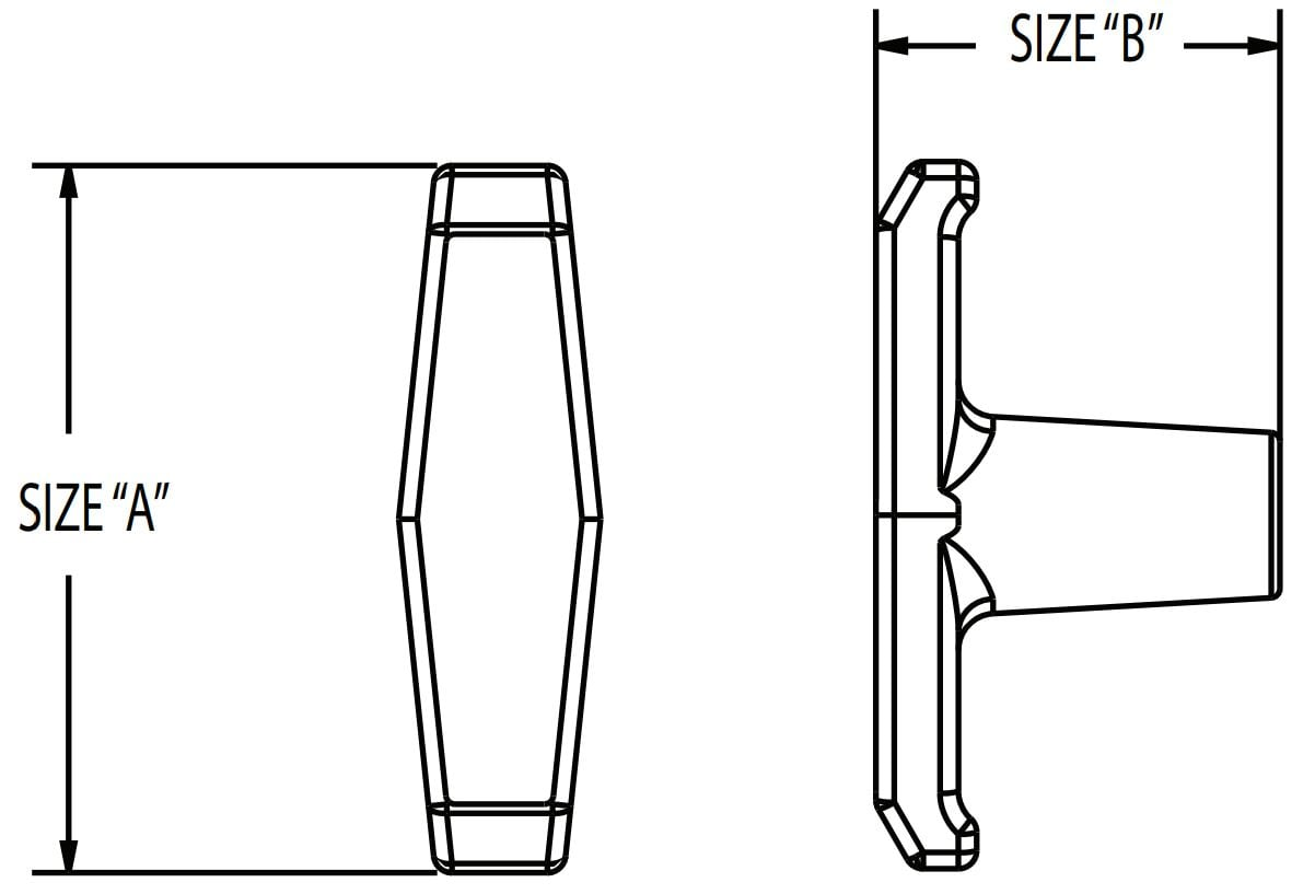T Handle Diagram
