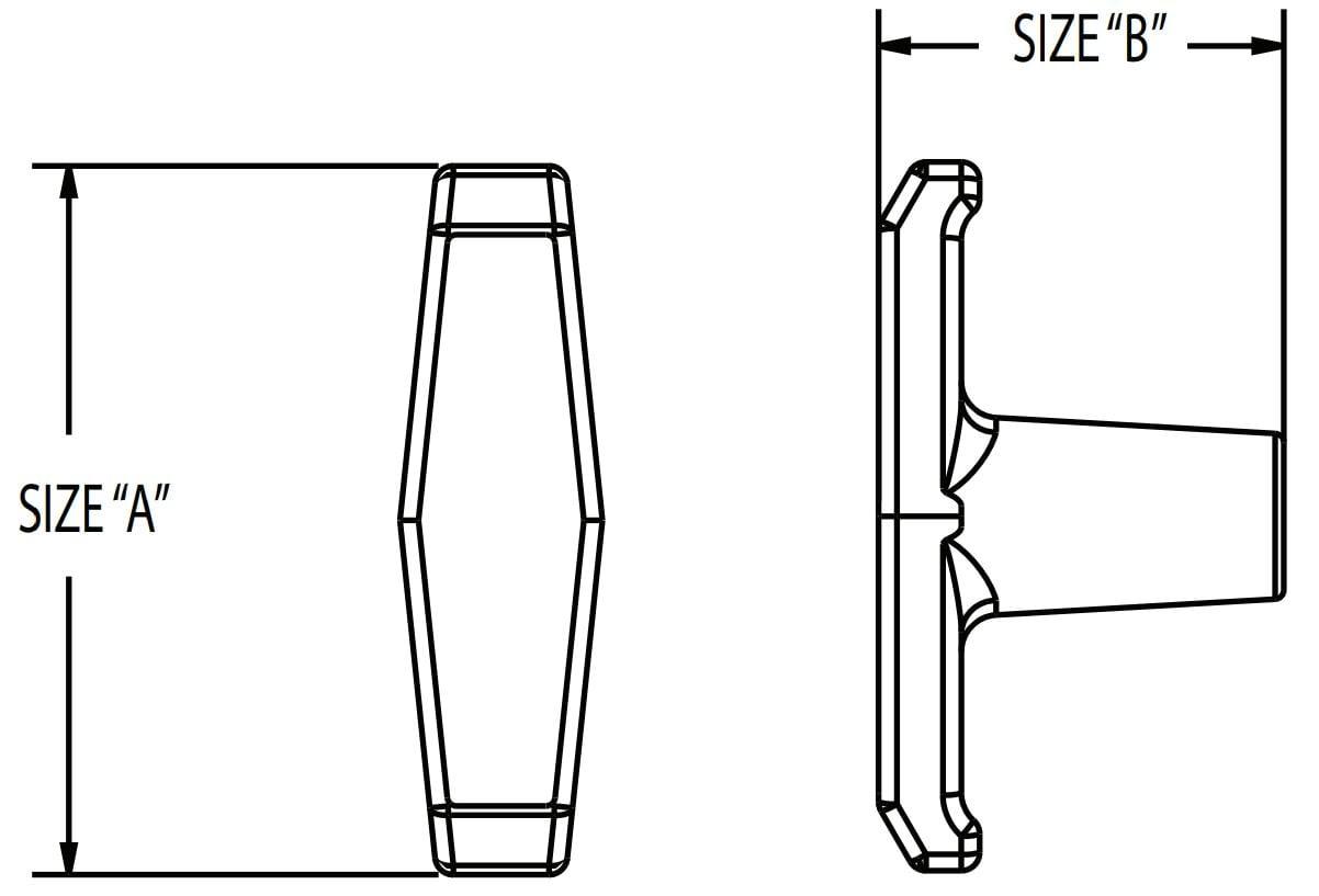 T Handle Diagram