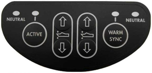 Complete Controls Control Head 6 button keypad